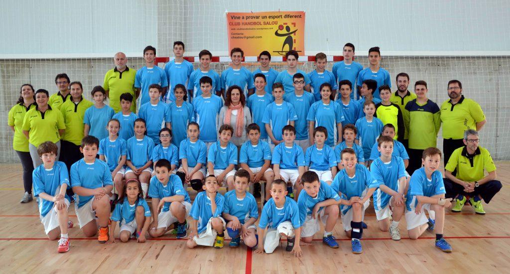 Foto de grup dels equips