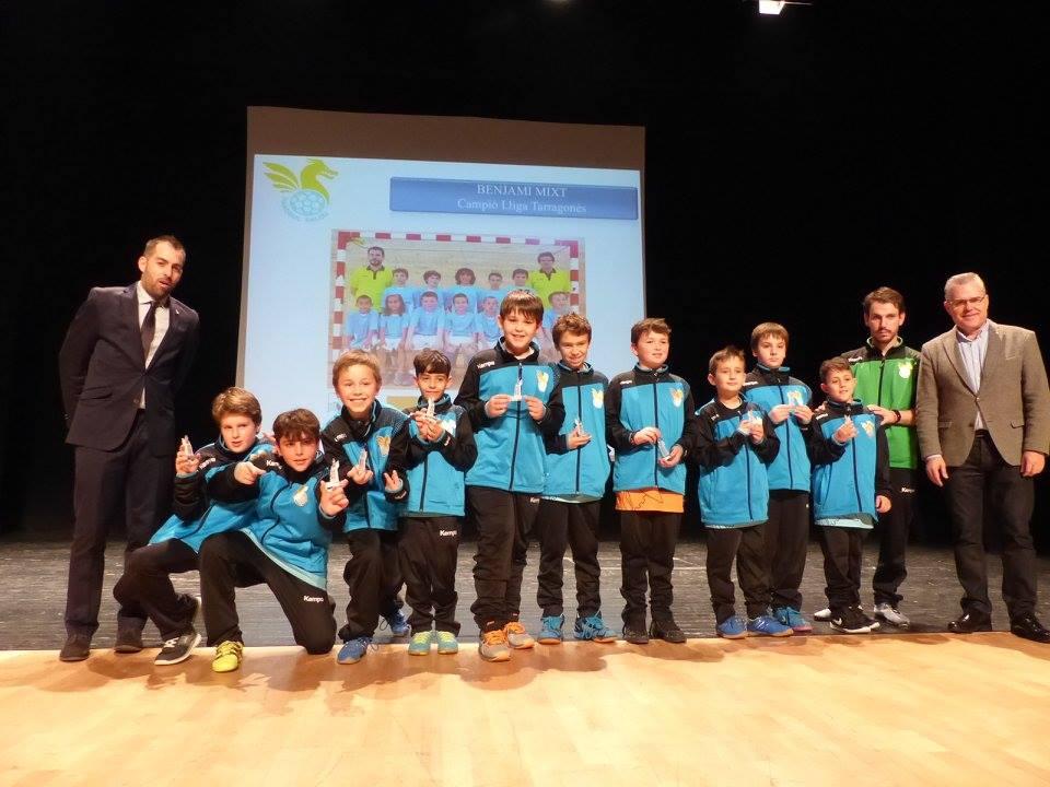 L'equip benjamí campió de la lliga del Consell i subcampió del Trofeu Diputació
